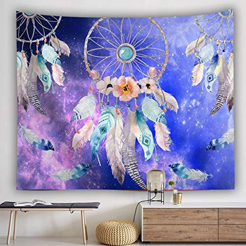 Saingace - Tapiz de Pared con diseño de atrapasueños Tapestry, Bed Sheet, Comforter Picnic Beach Sheet, Calidad Hippie
