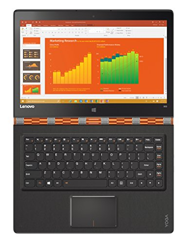 Lenovo-YOGA-900-133-Inch-Convertible-Notebook-Clementine-Orange-Intel-Core-i7-6560U-32-GHz-8-GB-RAM-HDD-Windows-10