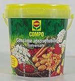 Compo 1210702005 Concime Idrosolubile Universale, 1.2 kg, Verde, 13.2x13.2x17 cm