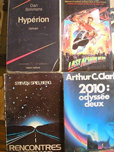 lot 14 livres SF / épouvante : démons et chimeres - la noirceur - les enfants du graal - ne touchez pas aux borloks - x men - le disciple - la cache du diable - les ames dévorées - star wars épisode 2 l'attaque des clones - aliens le retour - last action hero - hypérion - rencontres du troisieme type - 2010 odyssée deux par A. C. clarke - A.D. foster - S. spielberg - J. saul - L. koenig - dan simmons - K.W. jeter - D.R. koontz - robert tine - C. et N. henneberg - P. berling - R. bessiere - K. kathryn - R.A. salvatore (Poche)