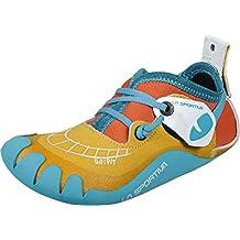 La Sportiva Gripit - Pies de Gato Niños - Amarillo/Naranja Talla del Calzado 35