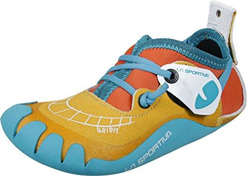 La Sportiva Gripit Scarpa arrampicata da bambino gelb/rot