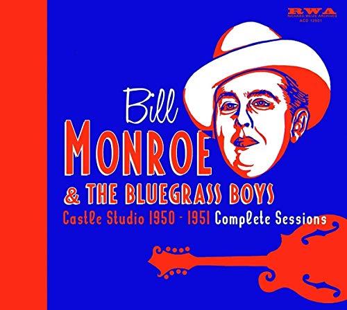 Castle Studio 1950-1951 (5 CD-Box/Buch) (Bill Monroe-cd)