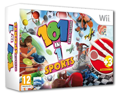 101 in 1 - Sports Party Megamix Bundle (inkl. Zubehör)