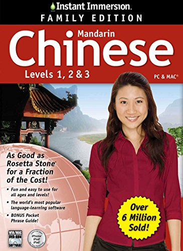 Instant Immersion Chinese Family Edition 1-2-3