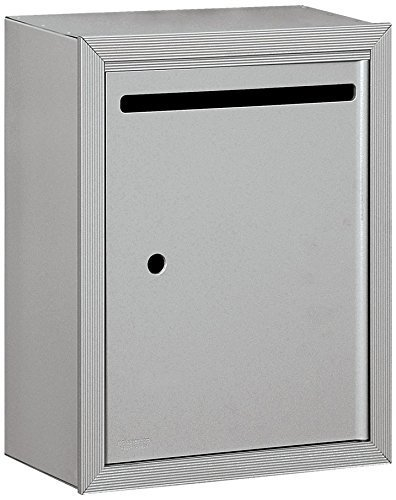 Salsbury Industries 2240AU Standard Surface Mounted Letter Box with USPS Access, Alumunim by Salsbury Industries Surface Mounted Box