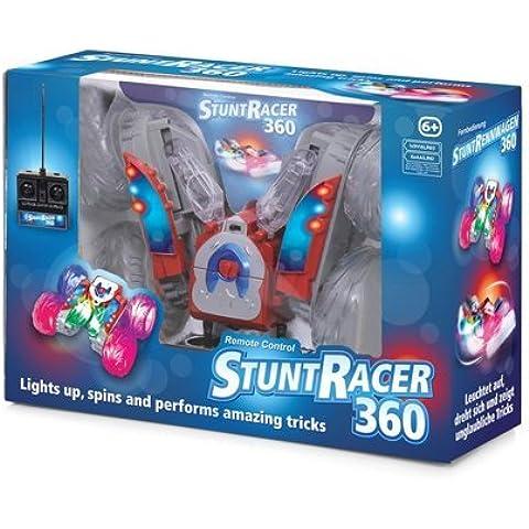 Stunt Racer 360 de control remoto RC luces del coche hasta Giros y Realiza trucos increíbles