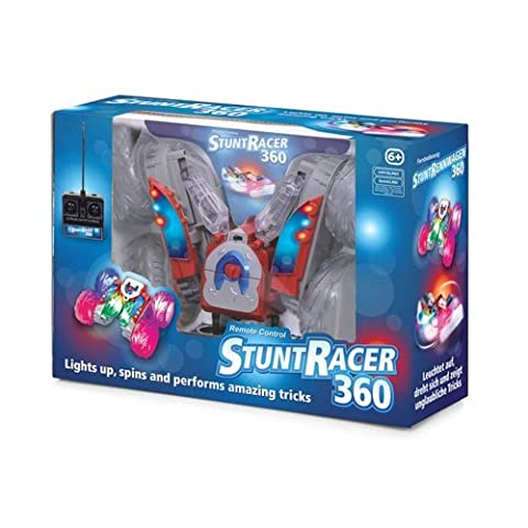 Stunt Racer 360 Remote Control RC Car Lights Up Spins & Effectue trucs incroyables