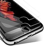 Pack de 2 Verre Trempé iPhone 7 6s 6 8, KETTRE® Film Protection d'écran en verre trempé ultra-résistant ** Facile d'installation - ANTI RAYURES - SANS BULLES D'AIR ** Pour iPhone 7 / 6S / 6 / 8