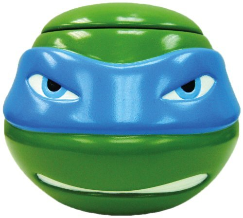 TMNT Teenage Mutant Ninja Turtles - 3-D Tasse mit Deckel, LEONARDO