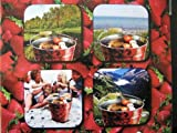 BBQ Grilleimer Erdbeere Design