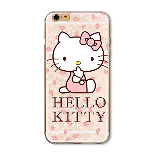 Hello Kitty iPhone 6 (4.7 Zoll) Handy Cover Schutzhülle Handyhülle Cover Schutzhülle Handy Cover (Model 8)