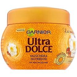 Garnier Ultra Dolce Meravigliosa Maschera Nutriente per Capelli Secchi Spenti - 300 ml