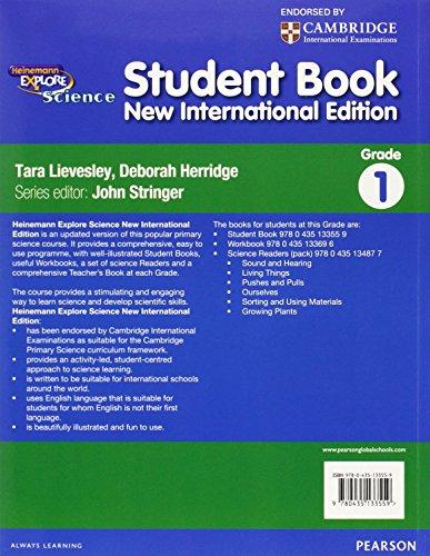 Heinemann Explore Science 2nd International Edition Student's Book 1 (Primary Explore Science International Edition)