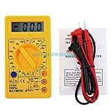 #1: Yellow : Professional DT832 Digital Multimeter LCD DC AC Voltmeter Ammeter Ohm Tester #H028