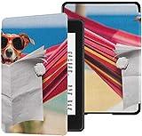 Estuches Paperwhite Kindle Lectura de Perros Periódico o Revista Paperwhite Kindle 10th Generation Case Case con Auto Wake/Sleep Kindle Paperwhite Case para Hombres 10th Generation 2018