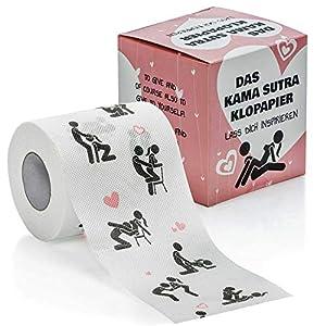 Goods & Gadgets Lustiges Fun Toilettenpapier Trump, Kamasutra und die größten Witze; Mehr Humor am stillen Örtchen geht Nicht