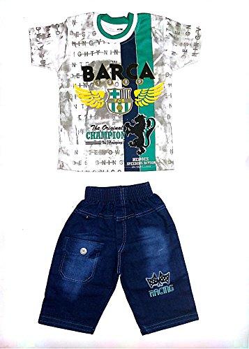 Light Gear Boys (2 to 5 Yrs) Fashion Capri Suit Dress (4-5...