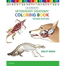 Veterinary Anatomy Coloring Book, 2e