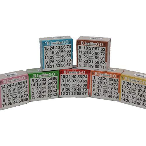 Bingo Karten, 3500 Tickets, für 1-75 Bingo Spiel (Bingo-karten Für Kinder)
