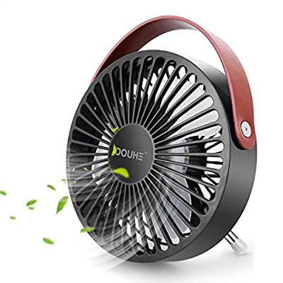 DOUHE USB Fan MINI Fan Desk Fan Small Fan Portable Desk