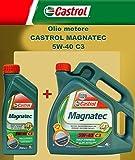 ricambi auto smc Olio Motore Originale CASTROL MAGNATEC C3 5W-40 LT. 5