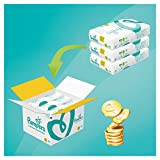 Pampers Premium Protection Size 3, 204 Nappies, (6-10 kg)/(5-9kg), Monthly Pack
