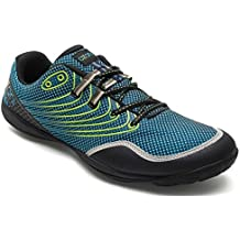 AZANI Rapid Racer Minimal Running Shoes | Barefoot Trail and Road Running Shoe - Fitness, Athletic Zero Drop Sneaker - Blue