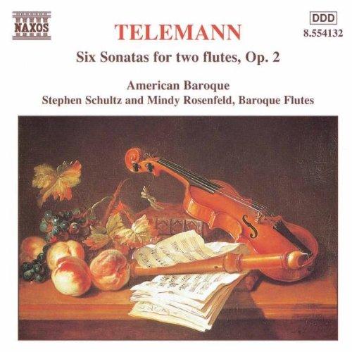 Sechs Sonaten für zwei Flöten, Op. 2