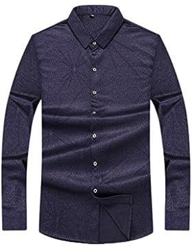 Camisas Para Hombres Camisa De Solapa De Manga Larga Camisa De Invierno Camisa De Abrigo
