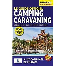 Le Guide Officiel Camping caravaning 2018