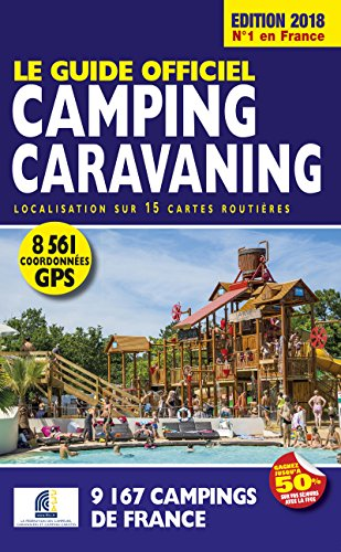 Le Guide Officiel Camping caravaning Edition 2018