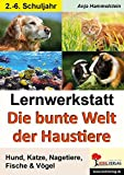 Lernwerkstatt Die bunte Welt der Haustiere: Hund, Katze, Nagetiere, Fische & Vögel