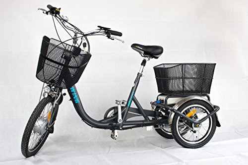 WEE E-Bike Dreirad Ewing Nexus 3 Trike Elektrodreirad E-Trike 20Zoll
