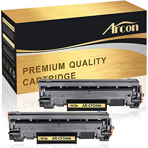 Arcon - Cartucho tóner Compatible HP CF244A 44A impresoras