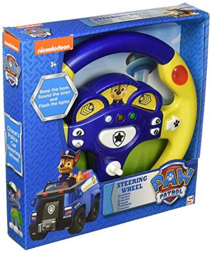 Pfoten Patrole Jagd Jungen Lenkrad Beep das Horn Klang- die Sirene und Blinken der Lichter Kinder interaktiv Spielzeug (Für Jagd-spielzeug Kinder)