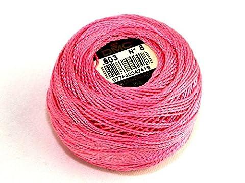DMC fil coton perle taille 8603–par 10g Boule + sans Minerva Crafts Craft Guide