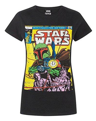 Fett Comic T-Shirt (XL) (Schwarz) ()