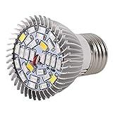gfjfghfjfh La pianta del LED coltiva la Luce Piena Spettro 8 / 28W E27 pianta Crescente Lampada idroponica per la Serra Interna Fiore Crescere Box