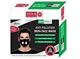#7: Usha Shriram FRESCO N99 PM2.5 HEPA Anti Pollution Face Mask (Pack of 1) Air Mask