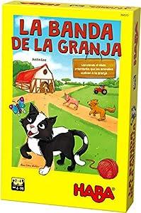 HABA- Juego de Mesa, La Banda de la Granja, (Habermass H304515)