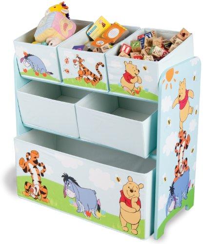 Delta Disney Winnie the Pooh - Mobile porta giocattoli, 63 x 40 x 33 cm