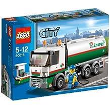 LEGO City - 60016 - Jeu de Construction - Le Camion-Citerne