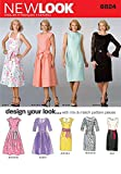 New Look Sewing Pattern 6824 - Misses Dresses Sizes: A (8,10,12,14,16,18)