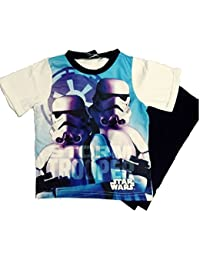 Various GladRags® Boys Character Pyjamas T Shirt Long Trouser Size 3 4 5 6 7 8 9 10 11 12 13 14 15 16 Years Spring Summer Thomas Pokemon Star Wars