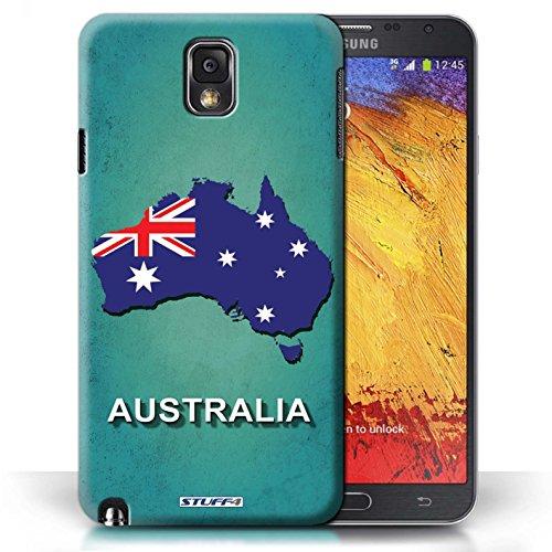 Kobalt® Imprimé Etui / Coque pour Samsung Galaxy Note 3 / Australie conception / Série Drapeau Pays Australie