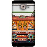 FUSON Designer Back Case Cover For Samsung J7 Max (Decorated Goods Carrier On Indian Road Stop Dil Tera)