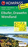 Elbufer - Drawehn - Wendland: Wanderkarte mit Radtouren. GPS-genau. 1:50000: Wandelkaart 1:50 000 (KOMPASS-Wanderkarten, Band 862)