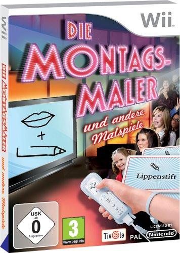 Die Montagsmaler und andere Malspiele - [Nintendo - Wii Nintendo Familie Für Die Spiele