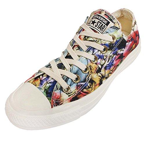 Converse Chuck Taylor Ox Canvas Graphic donna, tela, sneaker alta Mehrfarbig